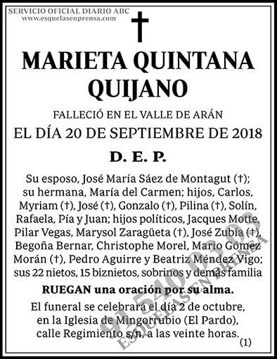 Marieta Quintana Quijano